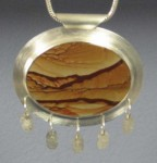 Biggs Agate with Inlay Steps.1